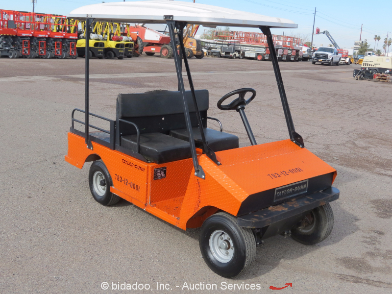 2010 Taylor Dunn 48v Industrial Equipment Electric Utility