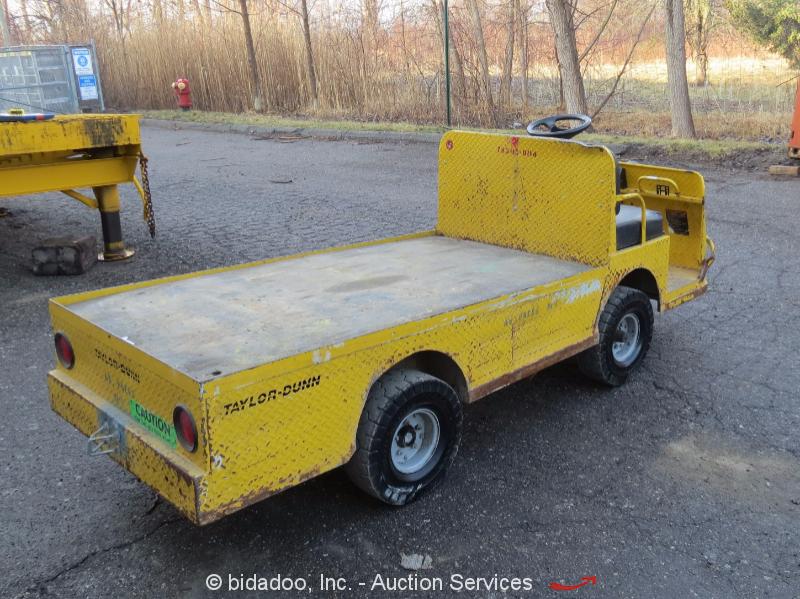 2011 dunn b0 248 36 industrial flatbed electric utility cart 2 passenger ebay