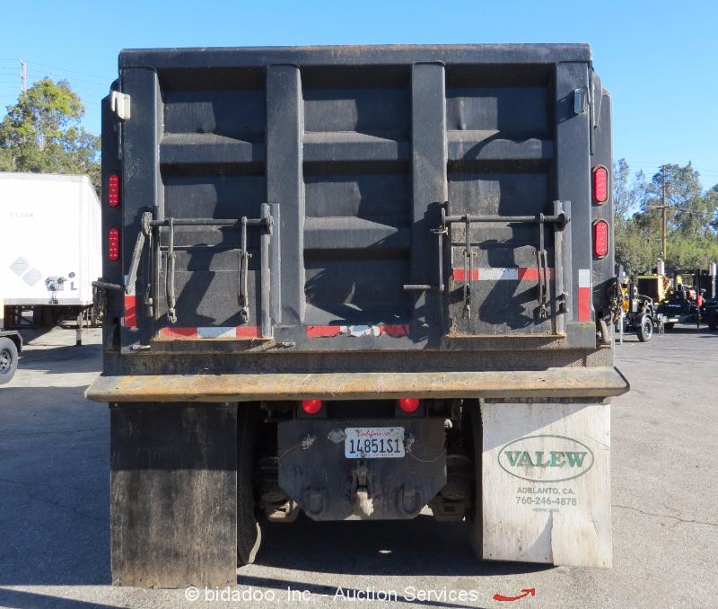 Mack Trucks Automatic : Mack gu t a cy dump truck automatic