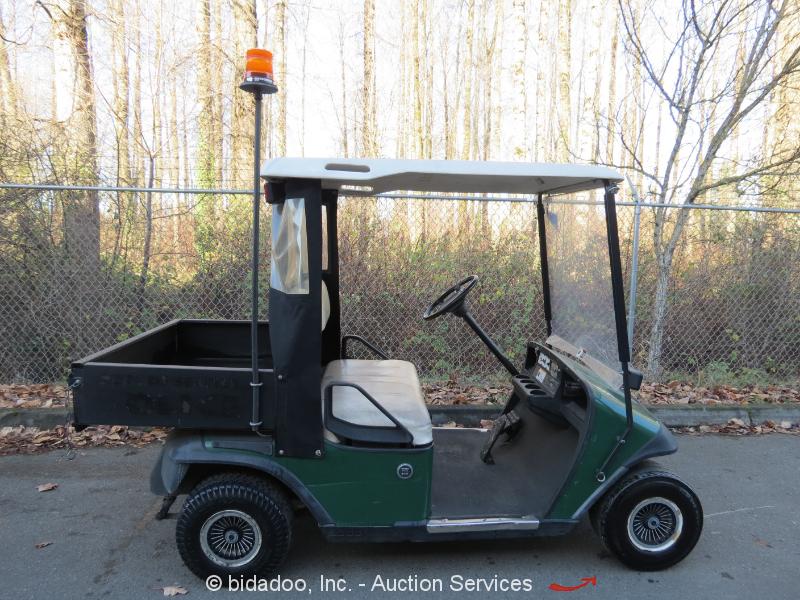 Ez Go Textron Electric Utility Golf Cart Scooter 28 X41