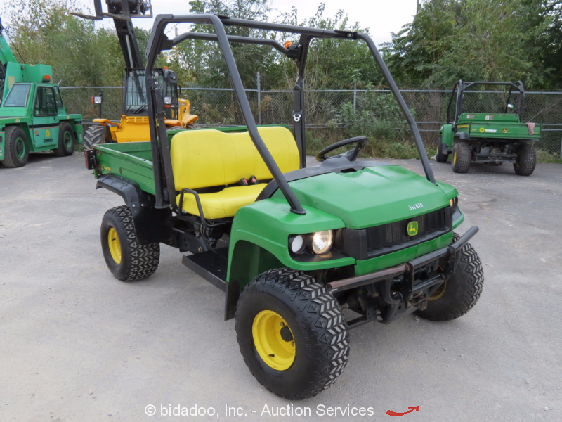 2010 john deere hpx gator diesel 4x4 utv utility cart vehicle dump bed atv 4wd. Black Bedroom Furniture Sets. Home Design Ideas