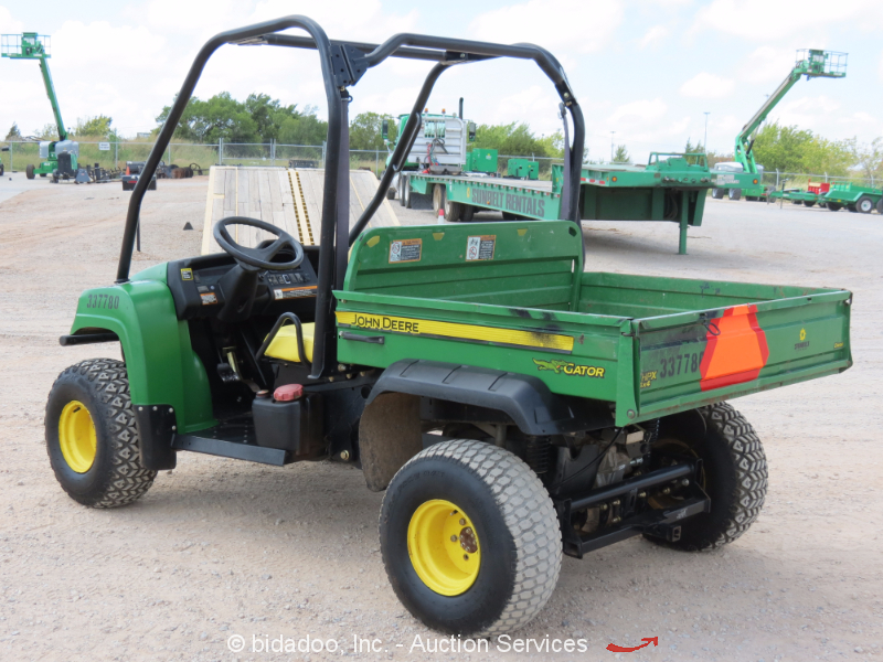 2011 john deere hpx gator diesel 4x4 utv utility cart. Black Bedroom Furniture Sets. Home Design Ideas