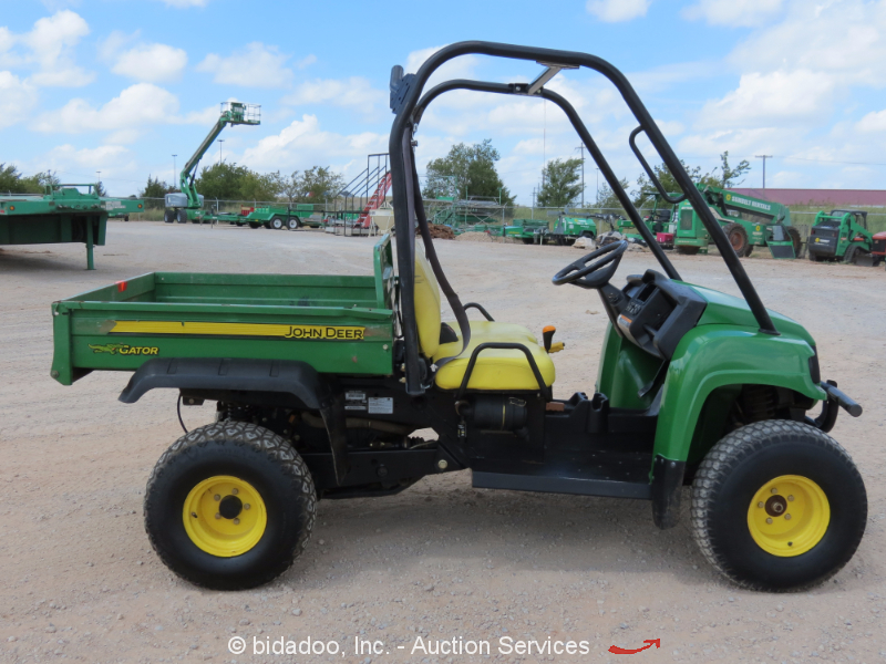 2011 john deere hpx gator diesel 4x4 utv utility cart vehicle dump bed atv ebay. Black Bedroom Furniture Sets. Home Design Ideas