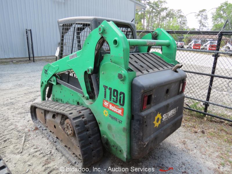 Bobcat Skid Steer Track Loader : Bobcat t skid steer track loader crawler kubota