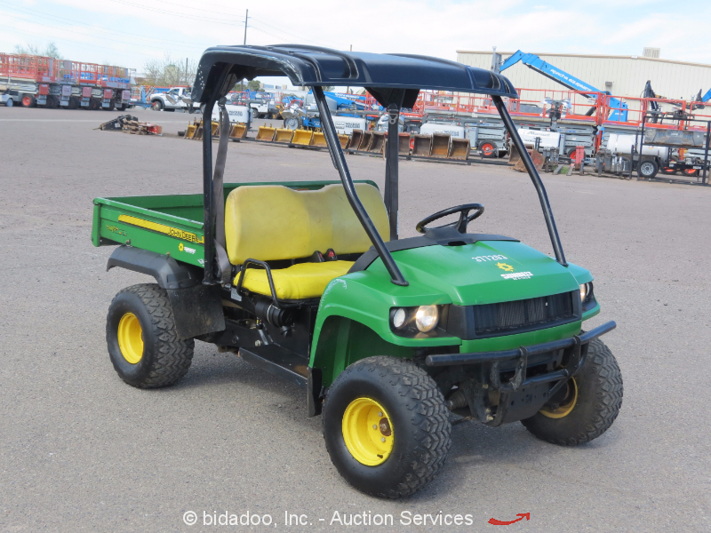 2011 john deere gator hpx diesel 4x4 utv utility cart. Black Bedroom Furniture Sets. Home Design Ideas