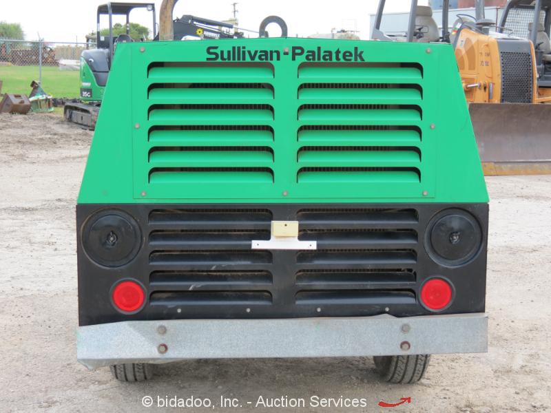 2011 Sullivan Palatek D185pjd 185 Cfm Cfm Towable Air