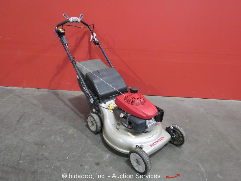 honda hrrvya push propelled  lawn mower cc quadracut system bidadoo ebay