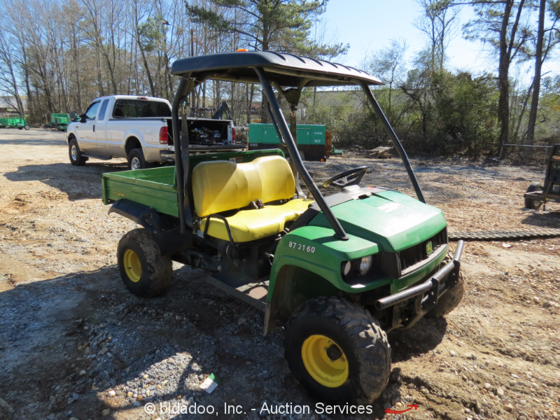 2012 john deere hpx gator 850d 4x4 xuv 4wd yanmar diesel. Black Bedroom Furniture Sets. Home Design Ideas