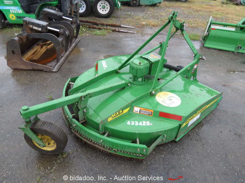 John Deere Tractor Replacement Parts : John deere mx quot rotary mower deck attachment ag