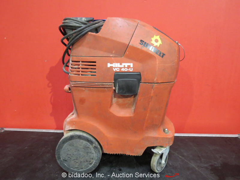 Hilti Vc 40 U Universal Industrial Vacuum Cleaner Dry Vac