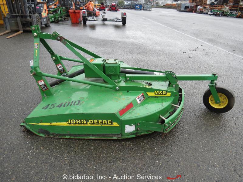 Three Point Hitch John Deere 60 : John deere mx quot rotary mower attachment ag tractor