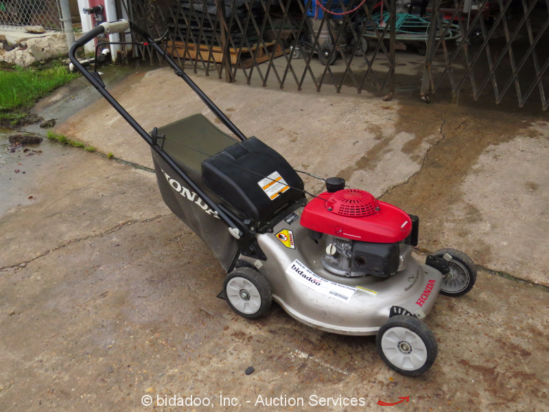 "2012 Honda HRR2168VKA Self Propelled 21"" Lawn Mower 160cc"