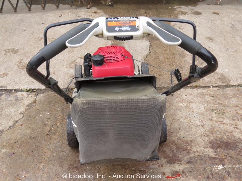 "2012 Honda HRR2168VKA Self Propelled 21"" Lawn Mower 160cc QuadraCut Parts/Repair"