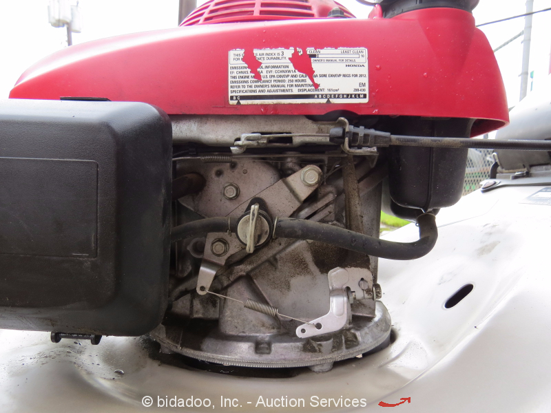 honda hrrvka  propelled  lawn mower cc quadracut partsrepair