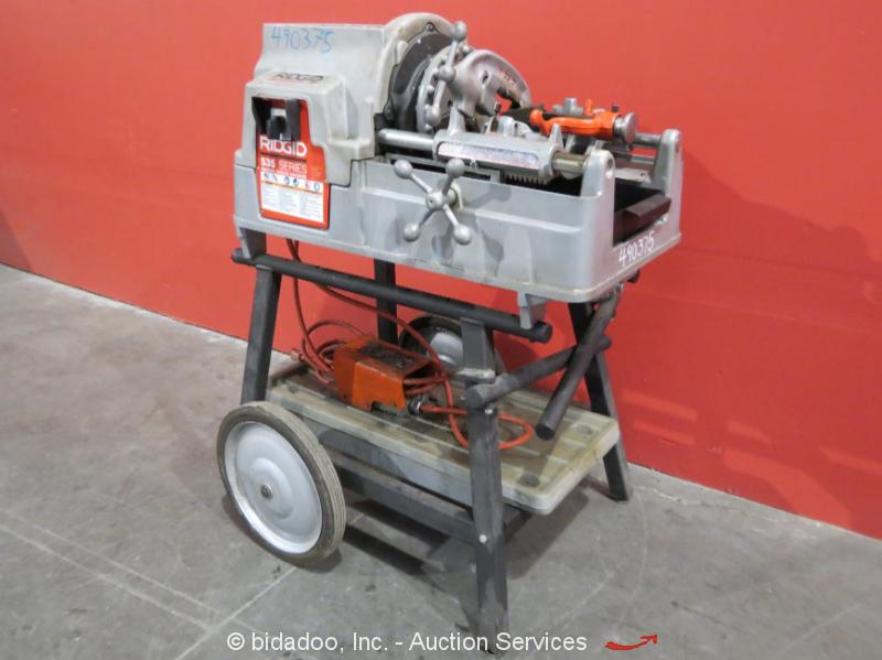 ridgid threading machine 535