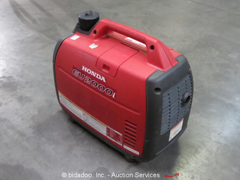 Honda eu2000i 2 000 watt portable generator power inverter for Honda financial services customer service number
