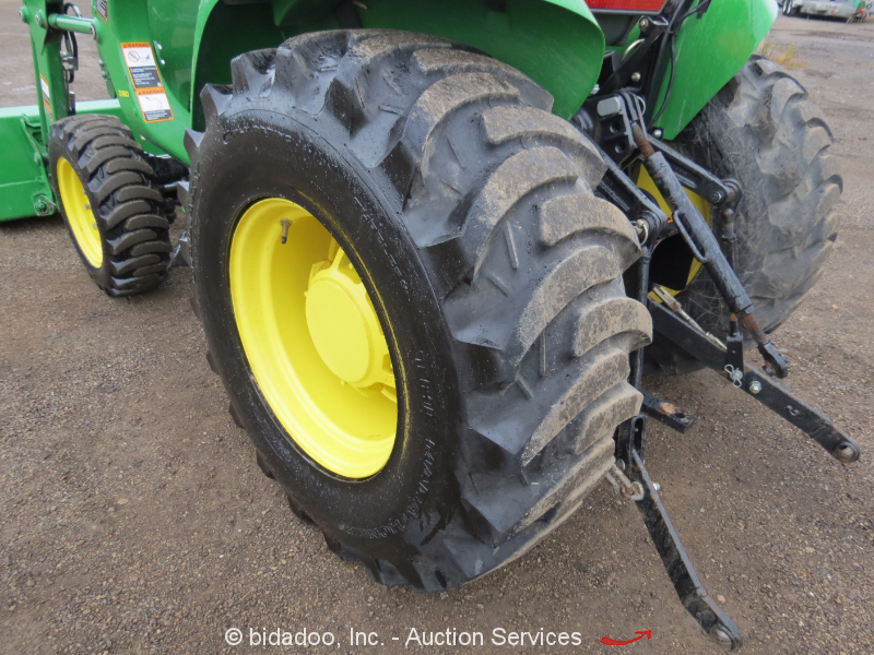 Yanmar Tractor Pto : John deere e d tractor loader point hitch