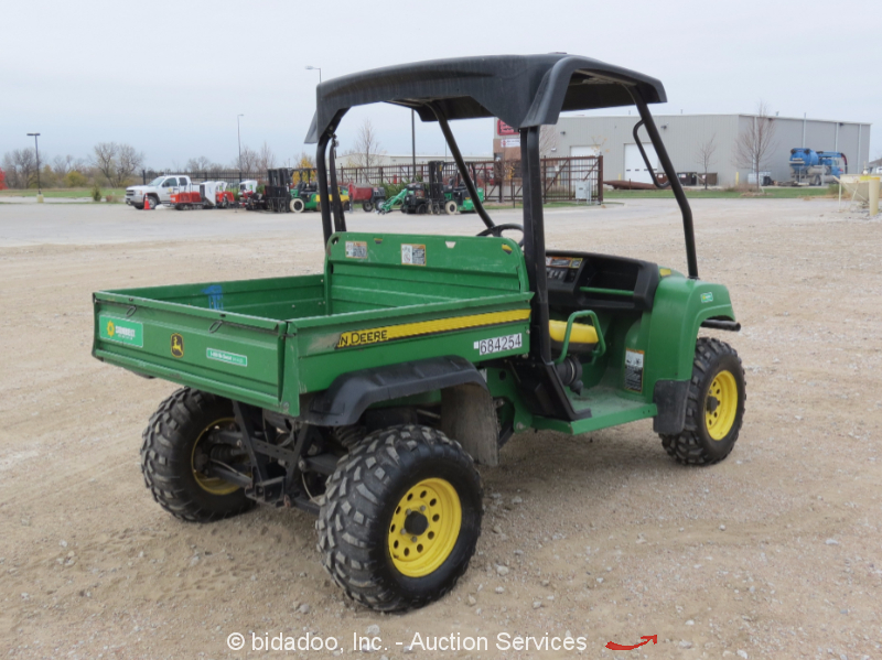 2008 john deere gator xuv 4x4 utility job site cart atv diesel dump bed bidadoo ebay. Black Bedroom Furniture Sets. Home Design Ideas