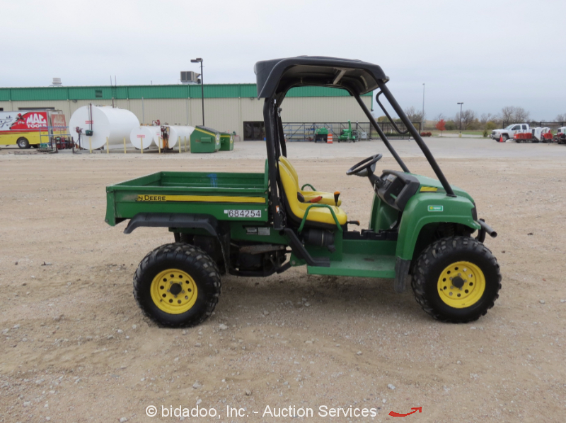 2008 john deere gator xuv 4x4 utility job site cart atv. Black Bedroom Furniture Sets. Home Design Ideas