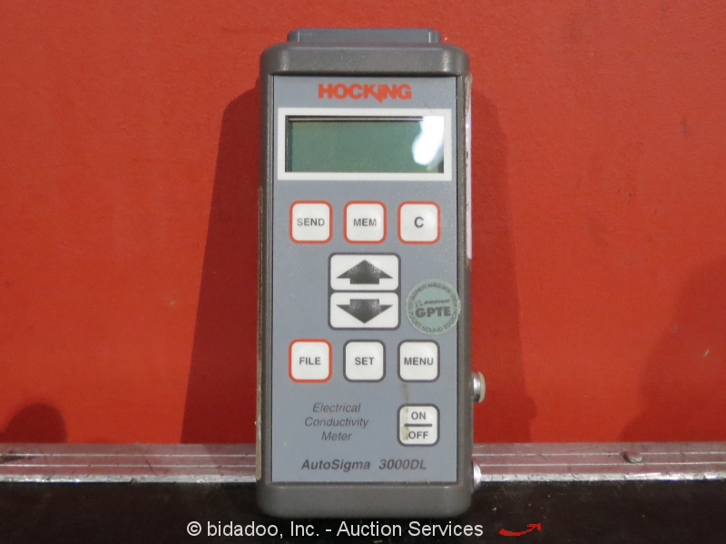 Building A Conductivity Meter : Hocking autosigma electrical conductivity meter eddy