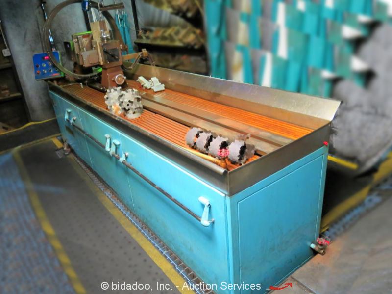 Gould-Bass 3505A Non-Destructive Testing Magnetic Particle Tester NDT bidadoo