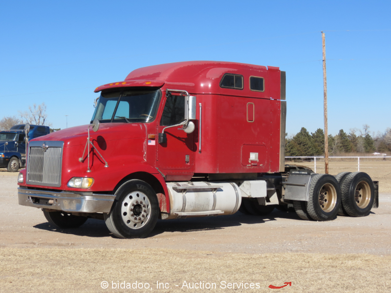 2007 International 9200i T A Semi Camion Tractor Cat C13 10 SPD Pto