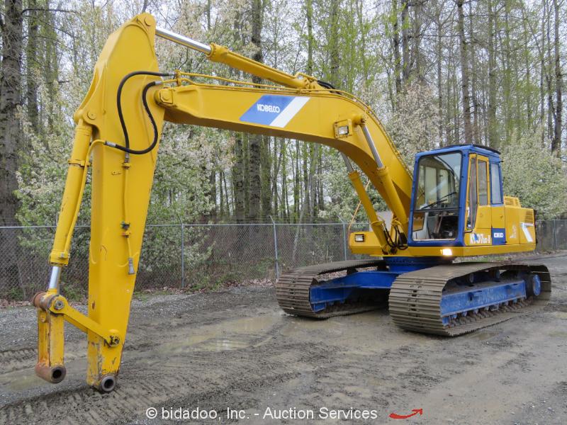Kobelco K907LCll Hydraulic Excavator Cab Auxiliary Hydraulic Diesel