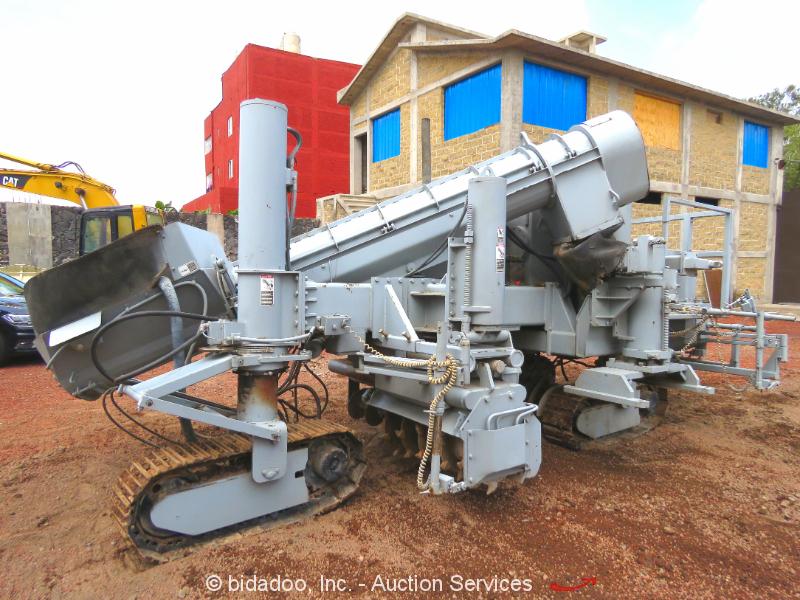 2004 Power Curbers 5700B-09 Curb & Gutter Machine Diesel Concrete bidadoo Mexico