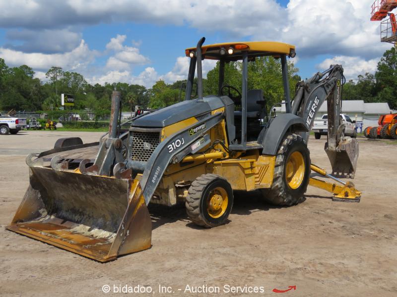 2007 John Deere 310J Backhoe 4x4 Wheel Loader Tractor E-Stick Aux Hyd bidadoo