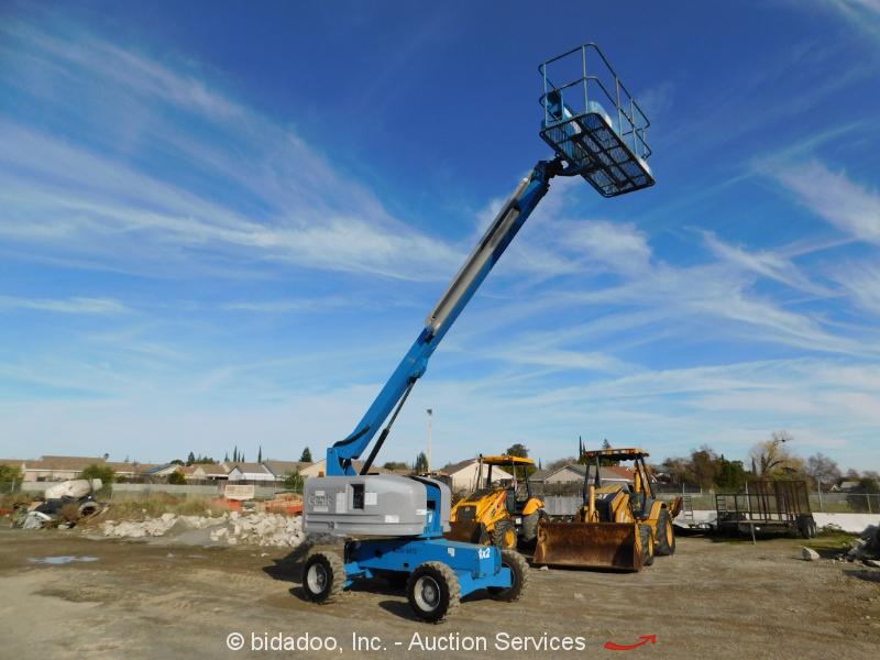 2007 Genie S40 40' D/F 4x4 Telescopic Boom Lift Man Aerial Platform Refurb