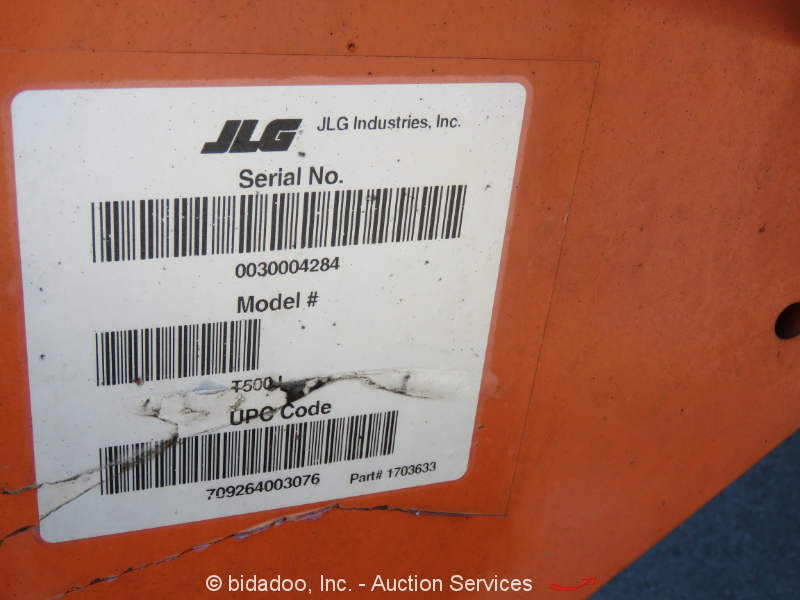 Jlg scissor lift Operating Manual