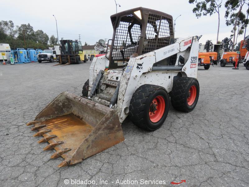 2010 Bobcat S220 Skid Steer Wheel Loader Auxiliary Hydraulics Kubota bidadoo