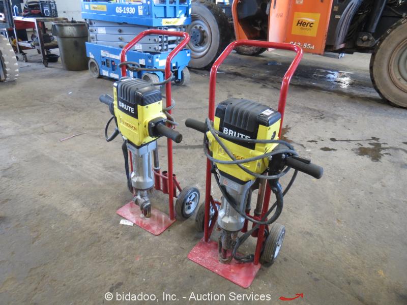 "Lot (2) 2015 Bosch BH2760 Brute Electric Jack Demo Hammer Breaker 1-1/8"" bidadoo"