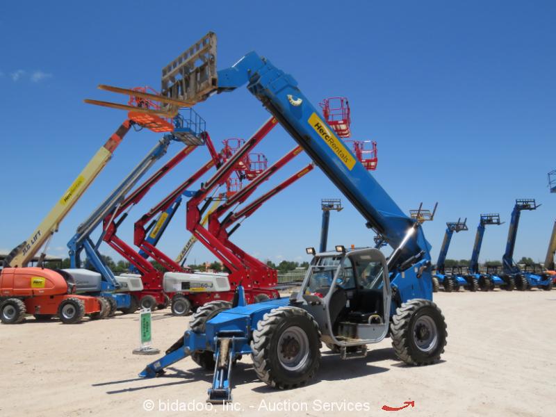 2012 Genie GTH-1056 56' 10,000LB Telehandler Reach Fork Lift 10K Telehandler