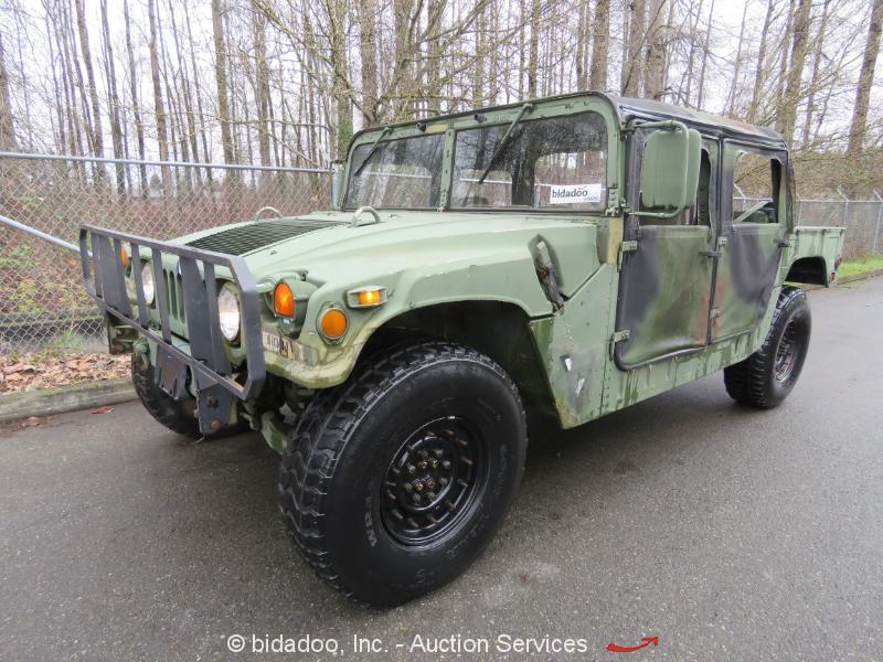 1 am general humvee militar m998 4 puertas 6 2 l diesel hummer off