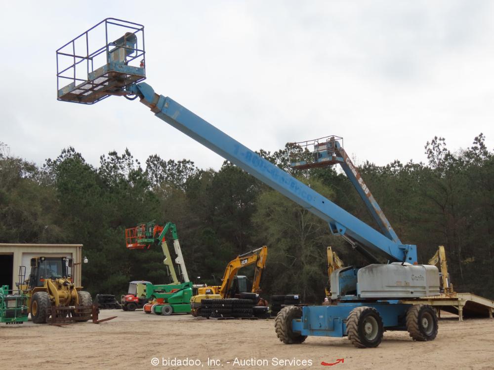 Genie S80 80' 4WD Diesel Telescopic Boom Lift Man Aerial Platform- Repair