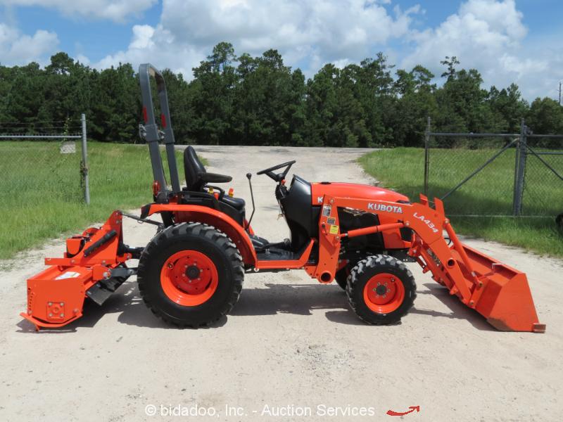 Kubota Box Blade : New kubota b hsd wd loader tractor w tiller