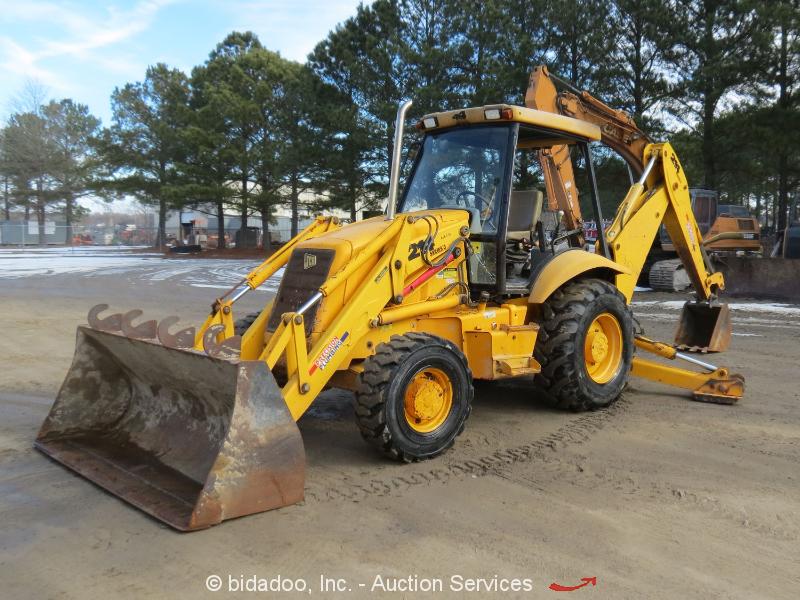 2002 jcb 214 series iii backhoe wheel loader tractor perkins bidadoo rh ebay com