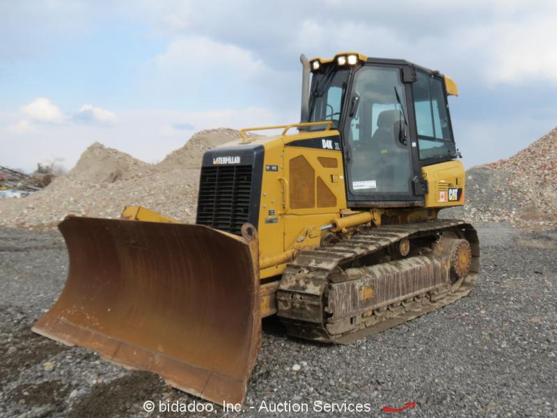 2010 Caterpillar D4K XL Crawler Dozer Tractor A/C Cab 6-Way -  bidadoo