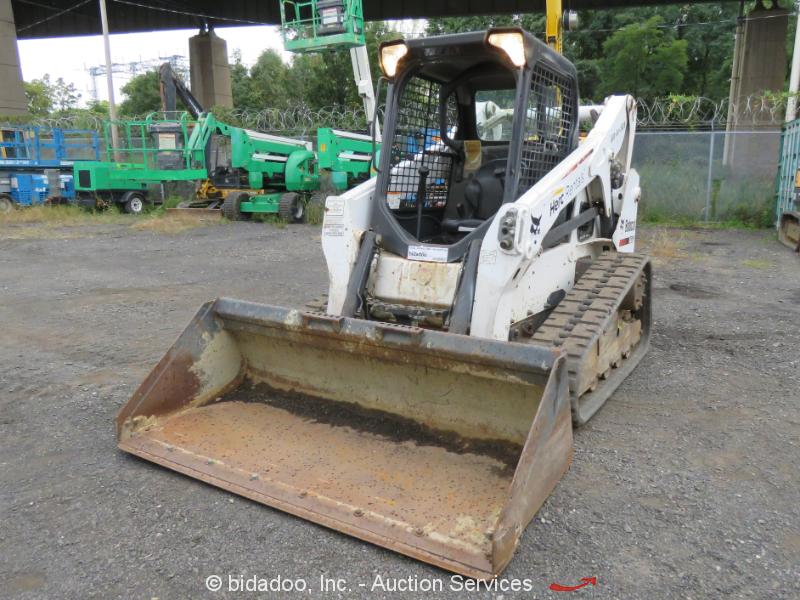 2013 Bobcat T650 Skid Steer Track Loader Crawler Aux Hyd Kubota Diesel bidadoo