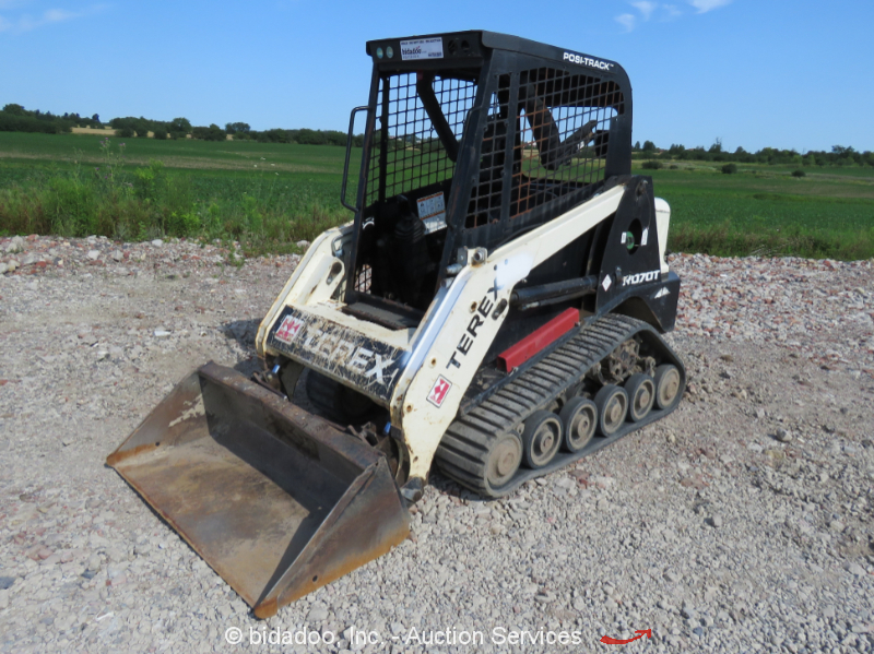 Skid Steer Results for equipment sold on online auction