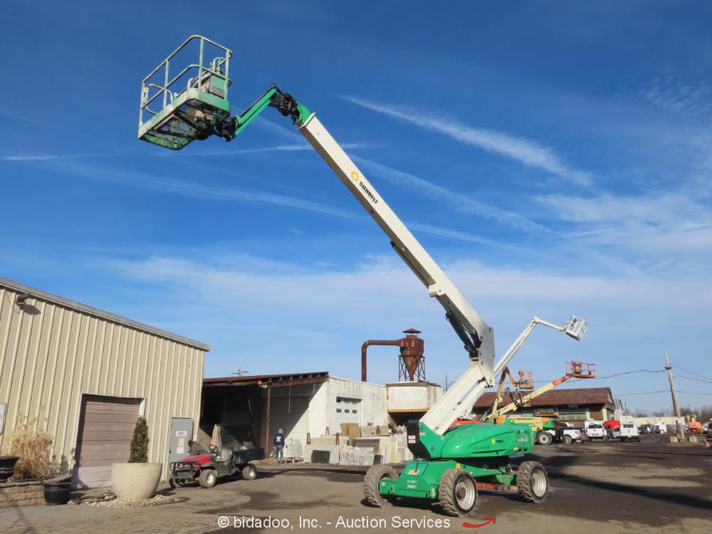 2012 JLG M600JP 60' Electric Articulating Boom Lift Man Aerial Platform bidadoo