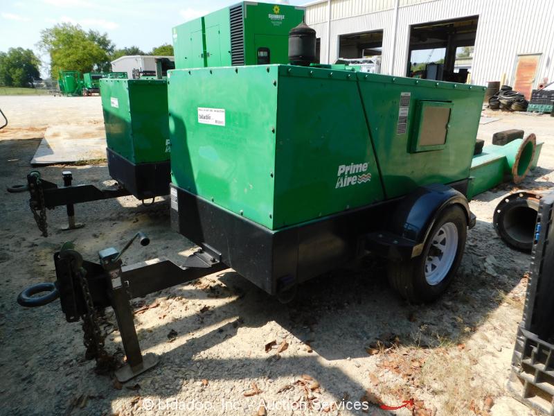"""2011 Gorman-Rupp PA4E71C 4"""" Prime Aire Water Pump S/A Towable Diesel Trailer"""