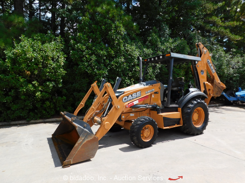 2014 Case 580N 4x4 Backhoe Wheel Loader Tractor Aux Hyd bidadoo