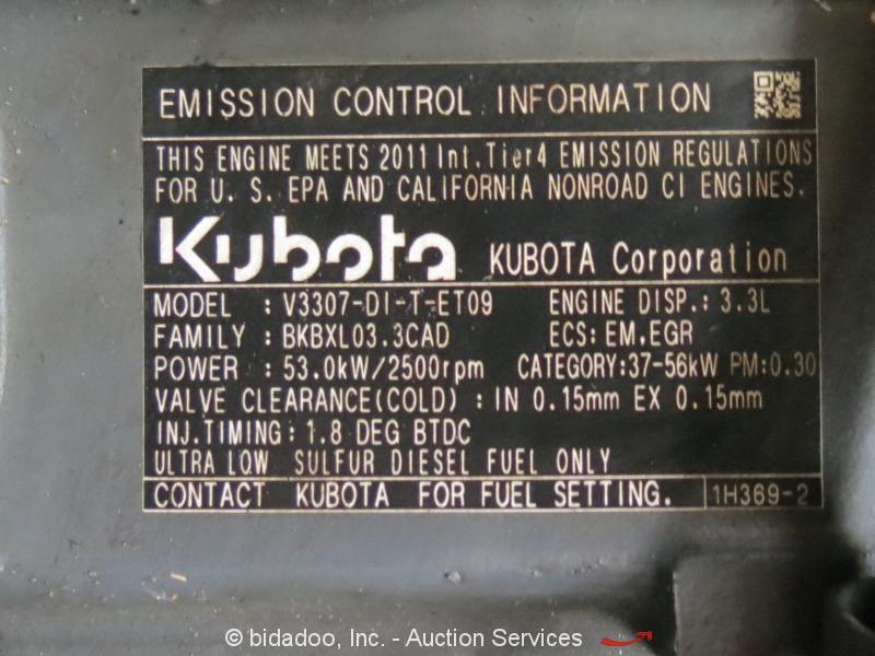 2012 Takeuchi TL230 Skid Steer Track Loader Crawler Kubota Diesel