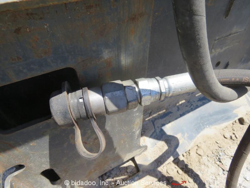 2011 Bobcat 6809442 Skid Steer Auger Attachment Med Torque Hyd Hoses