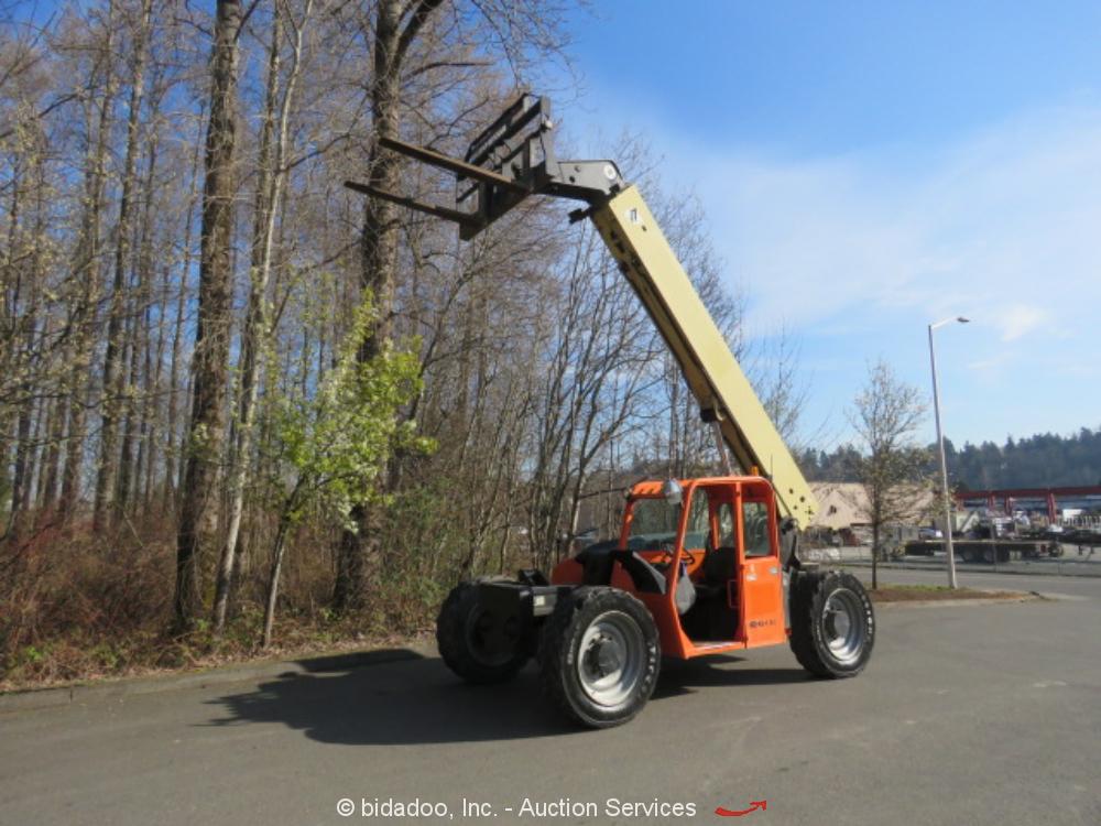 2013 JLG G9-43A 9,000LB Telescopic Reach Fork Lift 9K Telehandler bidadoo