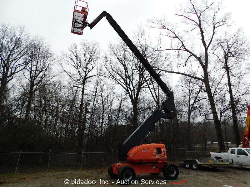 2008 JLG 800AJ 80' 4WD Diesel Articulating Boom Lift Aerial Platform SkyPower