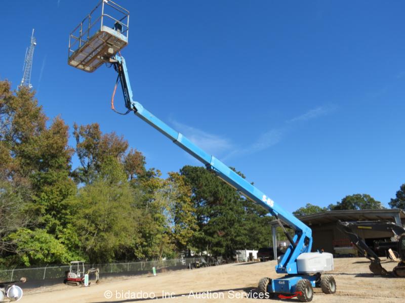 2011 Genie S-85 85' 4WD Diesel Telescopic Boom Lift Aerial Manlift Jib - Repair