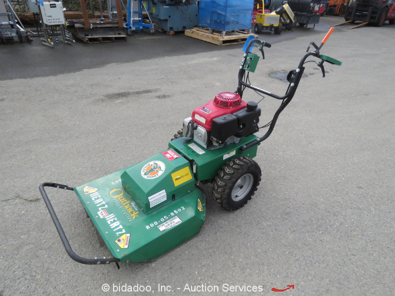 "2014 Billy Goat BC2600HEBH 26"" Walk-Behind Brush Cutter Self-Propelled Honda"